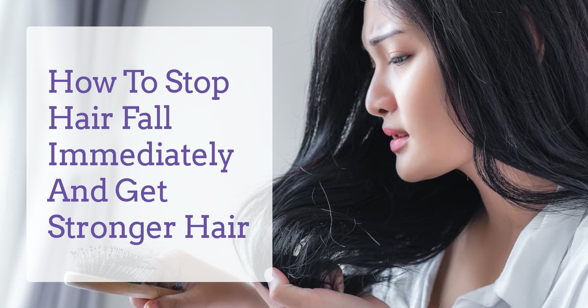 how-to-stop-hair-fall-derma-essentia