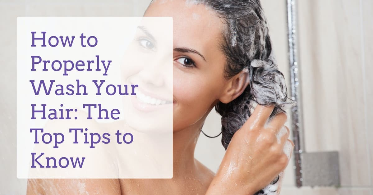 how-to-properly-wash-hair-derma