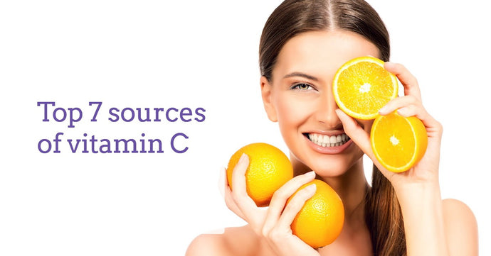 Top 7 sources of vitamin C