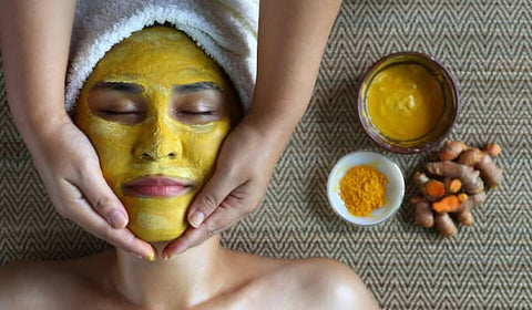 Turmeric powder for skin tightening Derma_essentia