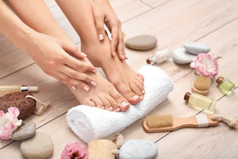 Take care of your feet properly