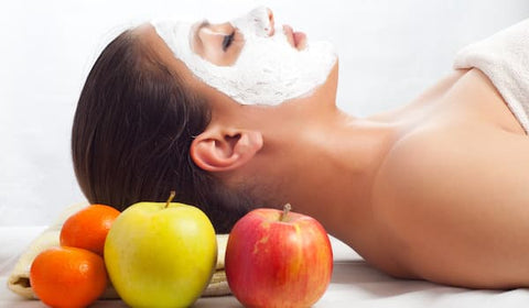 Apple for skin tightening Derma