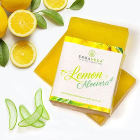 Lemon Aloe Vera Soap (Pack of 2)
