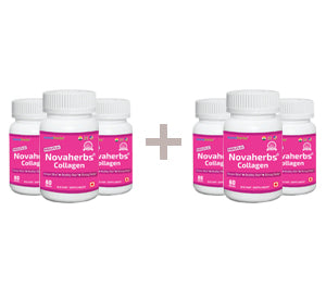 Novaherbs Collagen - Buy 3 Get 3 FREE