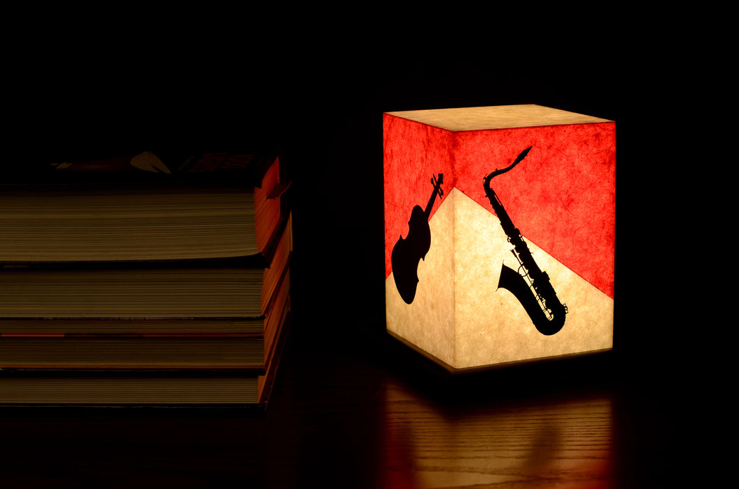 Love My Space Collection - Musical Jigs LED Table Lamp