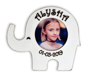 Personalized Elephant Photo Frame
