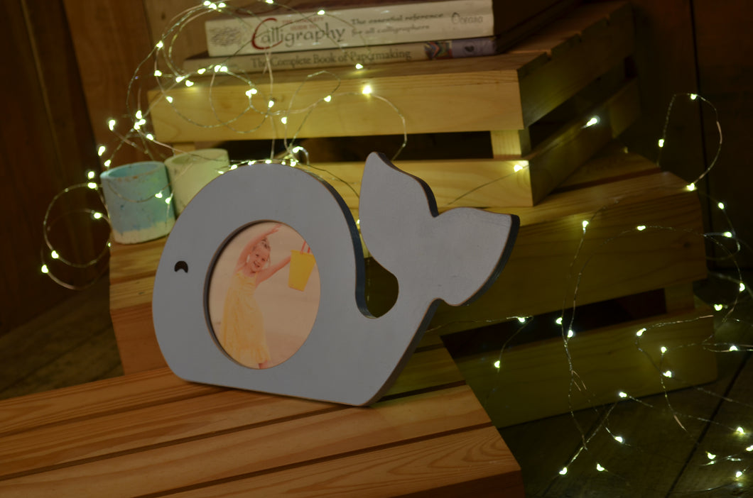 Personalized Whale Photo Frame