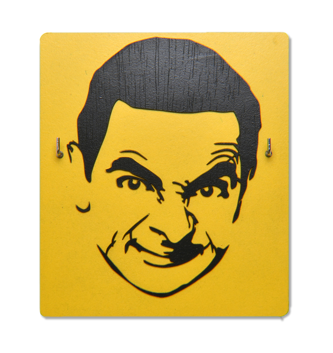Mr. Bean - Face Mask Hook