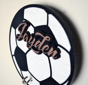 Football Fever - Personalized Face Mask Hook