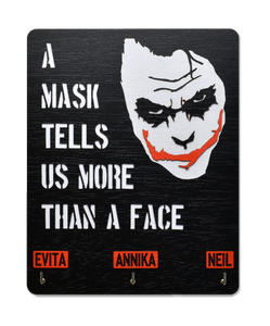 Joker Face - Personalized Face Mask Manager