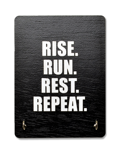 Rise Run Rest Repeat - Face Mask Manager