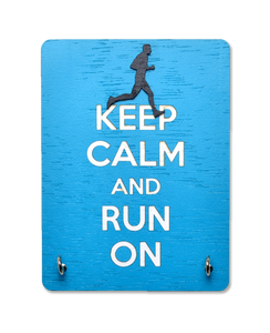 Keep Calm And Run On - Face Mask Manager