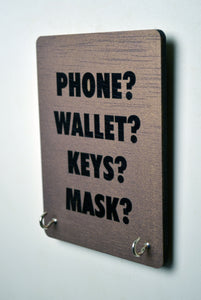 Phone Wallet Keys Mask - Face Mask Manager
