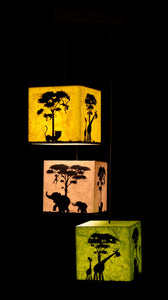 Jungle Mania 3-in-1 LED Pendant Lamp