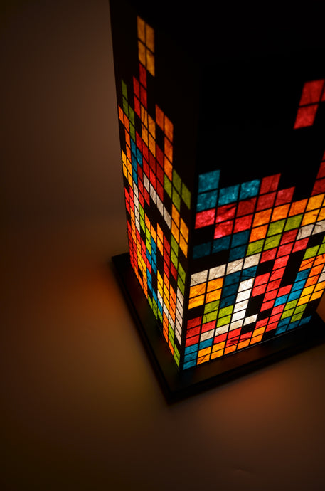 Tetris LED Table Lamp