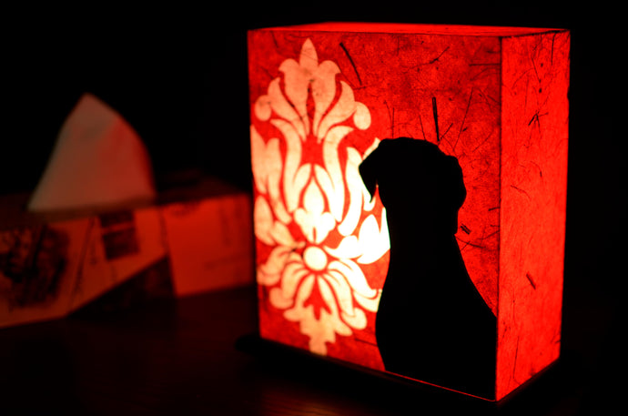 Puppy Love LED Table Lamp