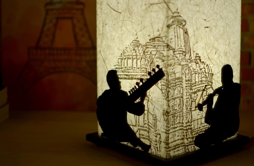 Indian Raga LED Table Lamp