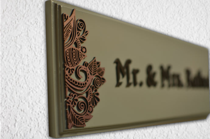Paisley Cherish Name Plate