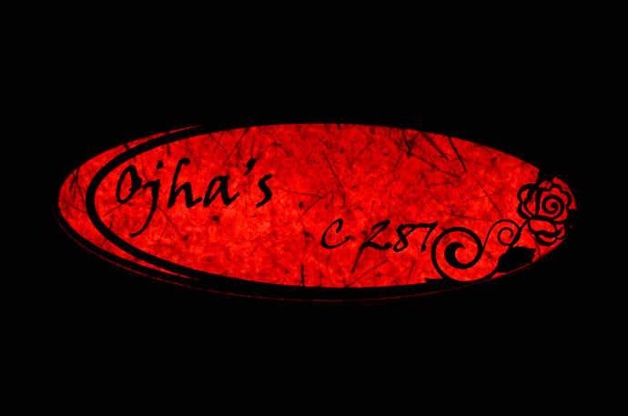 Rose Ellipse LED Name Plate