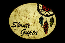 Load image into Gallery viewer, Dream Catcher Oval LED Name Plate