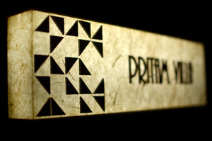 Triangles Rectangle LED Name Plate