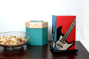 Love My Space Collection - Stratocaster LED Table Lamp