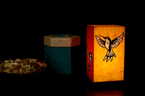 Love My Space Collection - Humming Bird LED Table Lamp