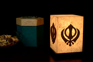 Love My Space Collection - Khanda LED Table Lamp