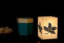 Load image into Gallery viewer, Love My Space Collection - Leafy Woods LED Table Lamp