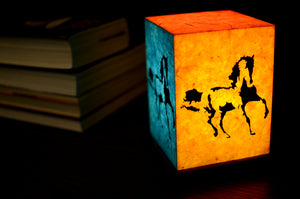 Love My Space Collection - Dark Horse LED Table/Desk Lamp
