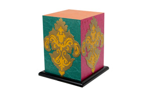 Love My Space Collection - Damask Passion LED Table Lamp