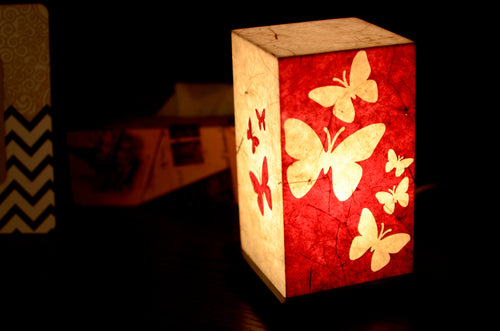 Love My Space Collection - Butterfly LED Table Lamp