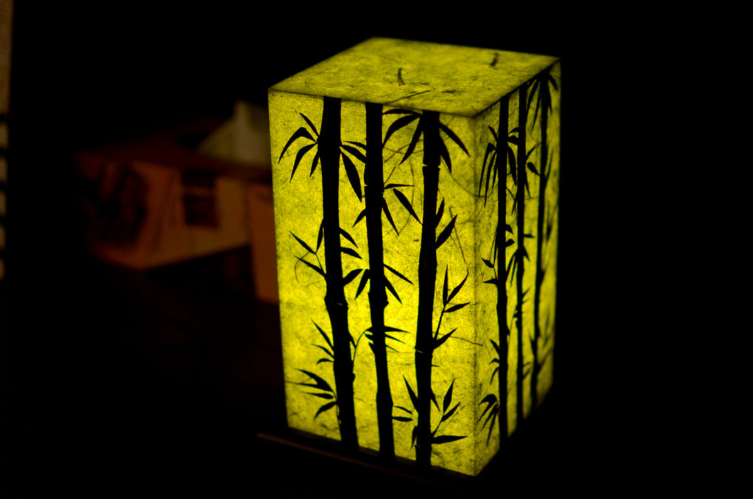 Love My Space Collection - Bamboo Forest LED Table Lamp