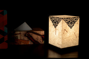 Love My Space Collection - Badshah LED Table Lamp