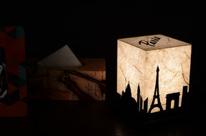 Love My Space Collection - Paris LED Table Lamp