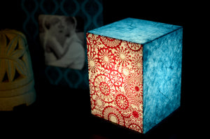 Love My Space Collection - Pretty Patterns LED Table Lamp