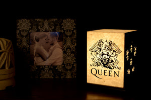 Love My Space Collection - Queen LED Table Lamp
