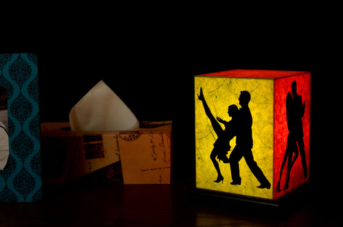 Love My Space Collection - Dance With Me LED Table Lamp