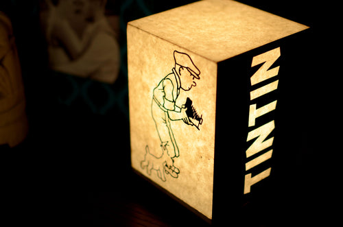 Love My Space Collection - Tintin LED Table Lamp
