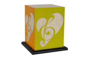 Love My Space Collection - Love Music LED Table Lamp