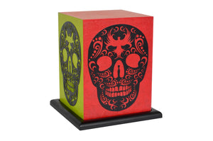Love My Space Collection - Skull Candy LED Table Lamp