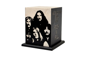 Love My Space Collection - Black Sabbath LED Table Lamp