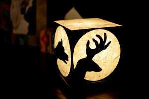 Love My Space Collection - Shadow Play LED Table Lamp