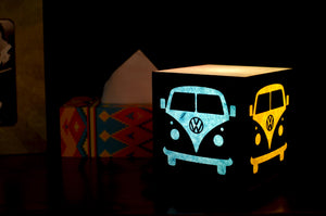 Love My Space Collection - Retro Wagon  LED Table Lamp