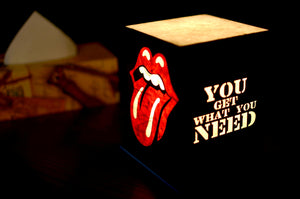 Love My Space Collection - Rolling Stones LED Table Lamp