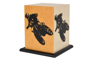Love My Space Collection - Dirtbike LED Table Lamp