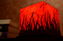 Load image into Gallery viewer, Forest Fire Small LED Table Lamp