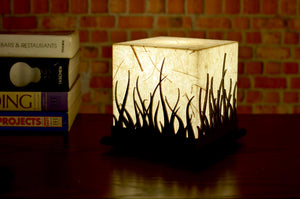 Forest Fire Small LED Table Lamp