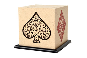 4 Aces LED Table Lamp by Shady Ideas , Playing Cards