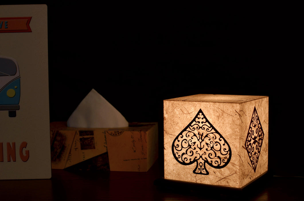 4 Aces LED Table Lamp